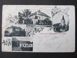AK PRINZENDORF A.d.zaya HAUSKIRCHEN  B. Gänserndorf 1900 /// D*18527 - Gänserndorf