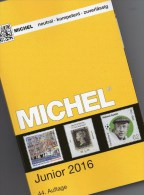 MlCHEL Junior Deutschland Briefmarken Katalog 2016 New 10€ D DR 3.Reich Danzig Saar Berlin SBZ DDR BRD 978-3-95402-136-9 - Tarjetas Telefónicas