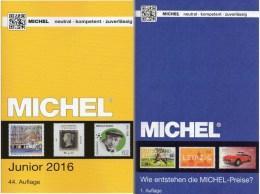 MlCHEL Deutschland Junior Briefmarken Katalog 2016 New 10€ D DR 3.Reich Danzig Saar Berlin SBZ DDR BRD 978-3-95402-136-9 - Bücher, Zeitschriften, Comics