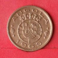 ANGOLA  1  ESCUDOS  1963   KM# 76  -    (Nº13233) - Angola