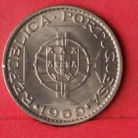 ANGOLA  10  ESCUDOS  1969   KM# 79  -    (Nº13246) - Angola