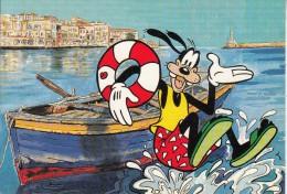 GREECE - Disney/Goofy, Crete/Chania, Unused - Disney