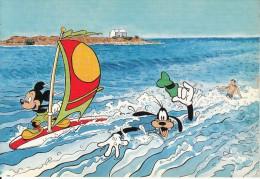 GREECE - Disney/Mickey & Goofy, Crete/Malia, Unused - Griekenland