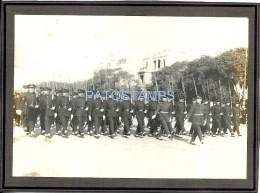 25150 ARGENTINA MILITARY MILITARIA CAMPO DE MAYO REGIMIENTO R- 4 PARADE SOLDIER YEAR 1932 16 X 11 CM PHOTO NO POSTCARD - Affiches