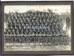 25158 ARGENTINA MILITARY MILITARIA CAMPO DE MAYO REGIMIENTO R- 4 SOLDIER YEAR 1932 16 X 11 CM PHOTO NO POSTCARD - Affiches