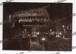 ROMA - Fotografica - Arco Di Colosseo Via Dell'impero Notte Auto Car - Foto Photo - Unclassified