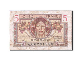 France, 5 Francs, 1947, KM:M6a, 1947, TB, Fayette:VF29.1 - Treasury