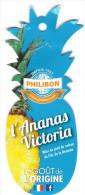 # PINEAPPLE PHILIBON L'ANANAS VICTORIA ILE DE LA REUNION Fruit Tag Balise Etiqueta Anhanger Ananas Pina - Fruits & Vegetables