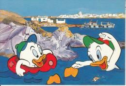 GREECE - Disney/Huey & Dewey, Paros Island/Kolibithres, Unused - Disney