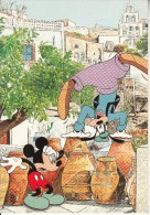 GREECE - Disney/Mickey & Goofy, Santorini Island, Unused - Unclassified