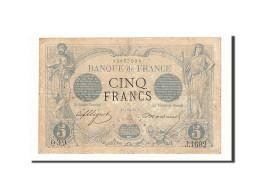 France, 5 Francs, 1873, KM:60, 1873-01-09, TB+, Fayette:1.14 - 5 F 1871-1874 ''Noir''