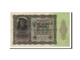 Allemagne, 50,000 Mark, 1922, KM:80, 1922-11-19, TB+ - [ 3] 1918-1933 : Weimar Republic