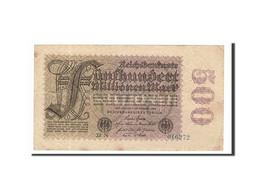 Allemagne, 500 Millionen Mark, 1923, KM:110b, 1923-09-01, TTB - [ 3] 1918-1933: Weimarrepubliek