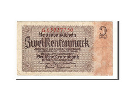 Allemagne, 2 Rentenmark, 1937, KM:174b, 1937-01-30, TB+ - [13] Bundeskassenschein