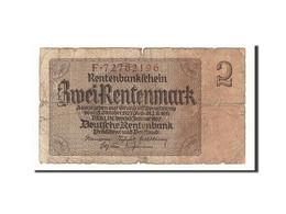 Allemagne, 2 Rentenmark, 1937, KM:174b, 1937-01-30, B+ - [13] Bundeskassenschein