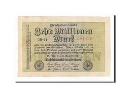 Allemagne, 10 Millionen Mark, 1923, KM:106a, 1923-08-22, TTB - [ 3] 1918-1933 : Weimar Republic
