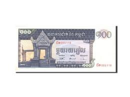 Cambodge, 100 Riels, 1963, KM:12b, Undated, SUP - Cambodia