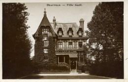 14 DEAUVILLE Villa Guili Rare Carte-Photo - Deauville