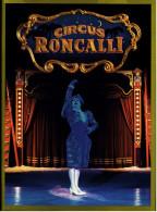 Reklameheft / Werbeheft  Circus Roncalli  -  Mit Informationen Und Hintergründen  -  Von Ca. 1985 - Reklame