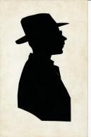 SILHOUETTES - Homme Regardant à Droite - Silhouettes