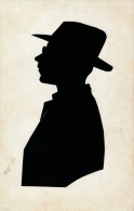 SILHOUETTES - Homme Regardant à Gauche - Silhouettes