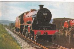 RAILWAY ENGINE 5690 'LEANDER' - Postcards