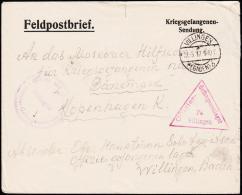 1917. Kriegsgefangenen-Sendung WILLINGEN (BADEN) 21.3.17. + Offizier- Gefangenenlager F... (Michel: ) - JF177618 - Non Classés