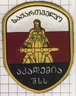 Ecusson. Patch. Toppa. Parche. Georgia. Former USSR. Police. MIA. - Police