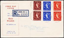 1953. QUEEN ELIZABETH ½ + 1 + 2d FDC 31 8 1953.  (Michel: 260+) - JF177647 - FDC