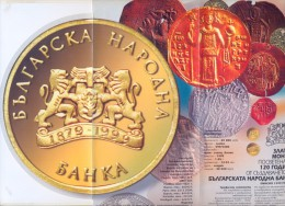 BULGARIA 1999 20 000 LEVA COMMEMORATIVE GOLD COIN BROCHURE BOOKLET - Bulgaria