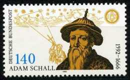 BRD - Mi 1607 - ** Postfrisch (A) - 140Pf     Schall Von Bell - Ungebraucht