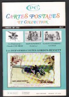 REVUE: CARTES POSTALES ET COLLECTION, N°153, 1993/5, LES DERNIERES COUPES GORDON BENETT - Français