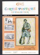 REVUE: CARTES POSTALES ET COLLECTION, N°154, 1993/6, LE 11 NOVEMBRE 1918 - French