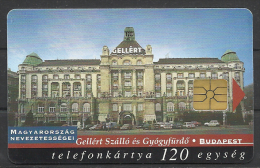 """Hungary,  The Art Nouveau Building of the Hotel  """"Gell�rt"""",  1998."""