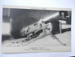 MITRAILLEUSE - Oorlog 1914-18