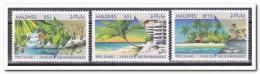 Maldiven 1992, Postfris MNH, Trees, Beach - Maldiven (1965-...)