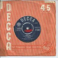 "45 Tours SP -  P.J. PROBY  - DECCA 11904   "" HOLD ME "" + 1  ( ANGLETERRE ) - Vinyl Records"