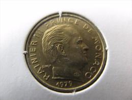 Rainier III : 5 Centimes 1979    RARE : 50 000 Ex   (Rac) - 1960-2001 Franchi Nuovi