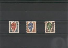 POLYNÉSIE Taxe Année 1958 N° Y/T :1/3** - Timbres-taxe
