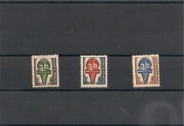 POLYNÉSIE Taxe Année 1958 N° Y/T :1/3* - Timbres-taxe