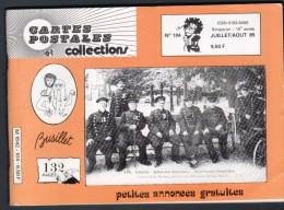 REVUE: CARTES POSTALES ET COLLECTION, N°104, JUILLET AOUT 1985 - French