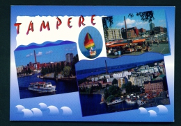 FINLAND  -  Tampere  Multi View  Used Postcard As Scans - Finland