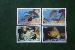 POISSONS TROPICAUX FISH VIS NVPH 723-726 1982 Gestempeld /  USED NEDERLANDSE ANTILLEN   NETHERLANDS ANTILLES - Niederländische Antillen, Curaçao, Aruba