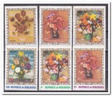 Maldiven 1973, Postfris MNH, Flowers, Paintings - Maldiven (1965-...)