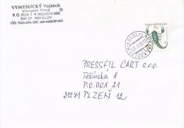 """K5494 - Czech Rep. (2002) 692 01 Mikulov Na Morave (handmade Postmark) Letter Tariff: 5,40 Kc (""""Sign Of The Zodiac"""") - Astrology"""
