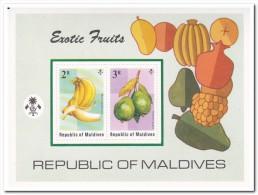 Maldiven 1975, Postfris MNH, Fruit - Maldiven (1965-...)