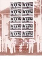 POLYNESIE FRANCAISE Neuf** N° 898 150ème Anniversaire Du Bureau De Poste Feuille De 10 - French Polynesia