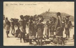 CPA - Afrique - Congo Belge - Bas Congo - BANGU - Au Marché De KITOBOLA - Cachet Thysville   // - Congo Belge - Autres