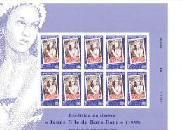 POLYNESIE FRANCAISE Neuf** N° 896 Réédition Du Timbre Feuille De 10 - Französisch-Polynesien