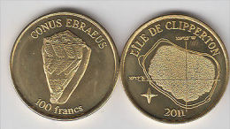 CLIPPERTON 100 Francs 2011, Unusual Coinage - Monete